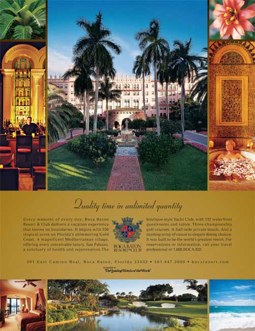 Boca Raton Resort & Club-Quality time in unlimited quantity
