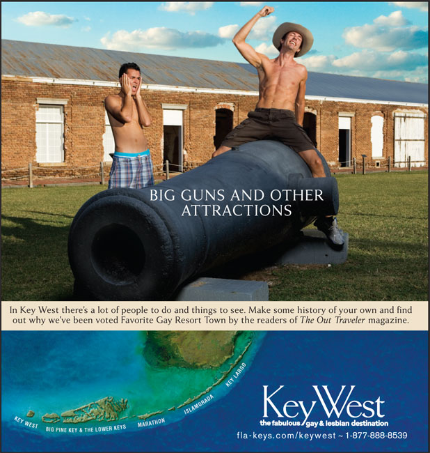 Key West- Big Guns and other attractions