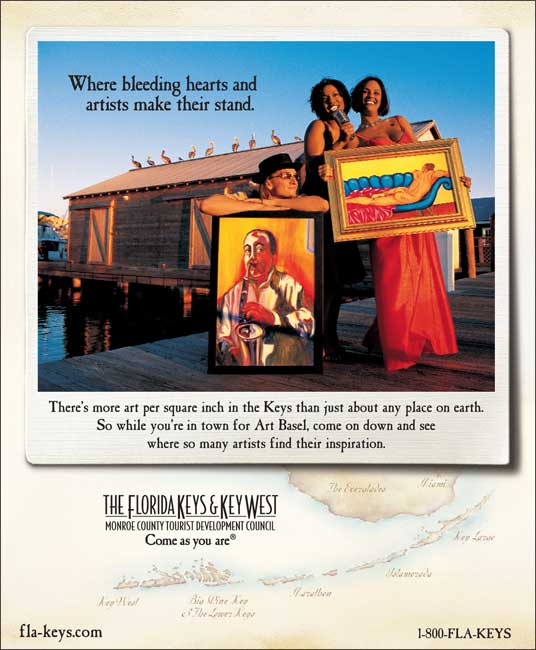 The Florida Keys & Key West- Where bleeding hearts and artists make their stand