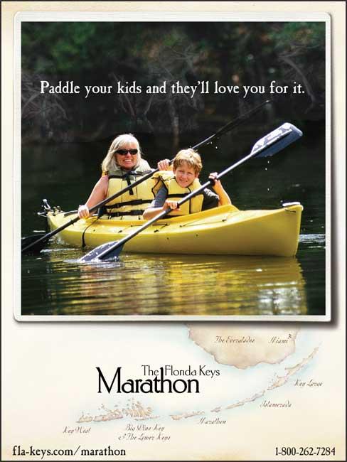 The Florida Keys & Key West - Paddle your kids