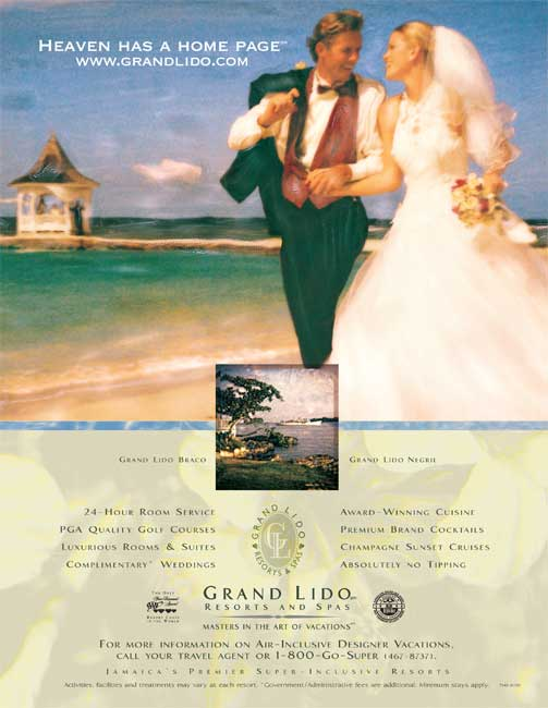 Super Clubs Grand Lido - Heaven has a home page