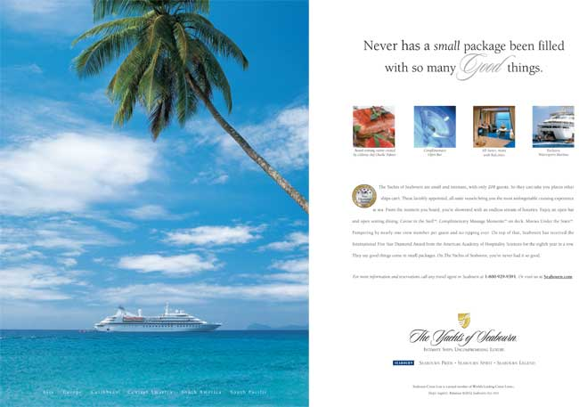 Seabourn - Good thing in a small package